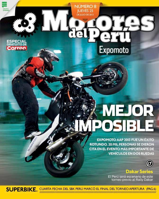 Motores del Peru cover