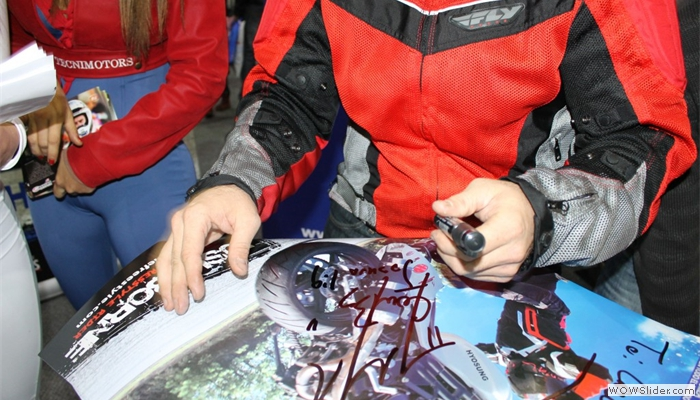 South American ExpoMoto - Autograph Session