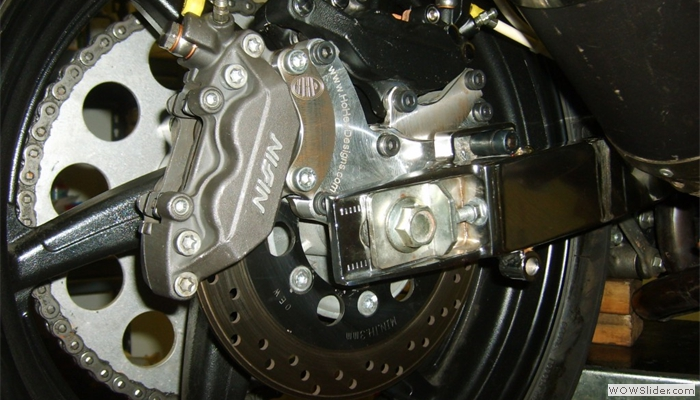 Hyosung Dual Caliper Brake System Development