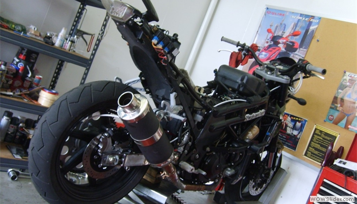 Hyosung Competition Motorcycle Development