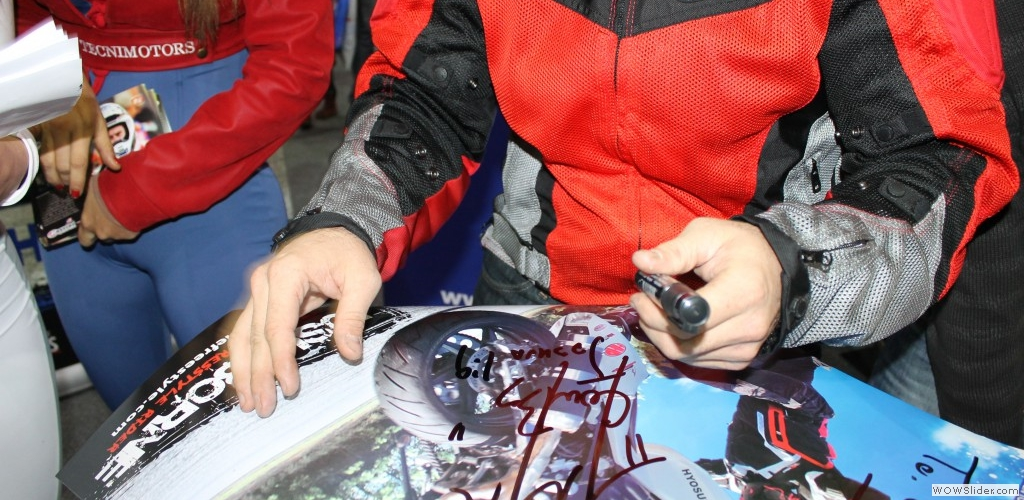 Expo Moto - Autograph Session