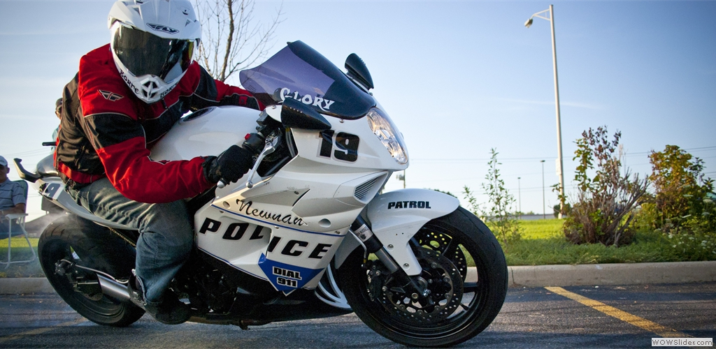 Hyosung GT650R Police Edition Drift Bike 2