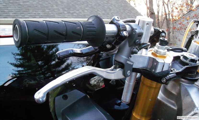 Sick Innovations: Kawasaki Multi Adjustable Clipons